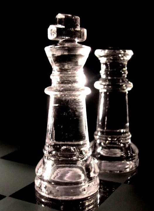 Vertical crop chess pieces